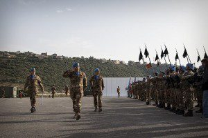 Rassegna della truppe di Italbatt