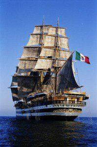 Vespucci in navigazione_Marina Militare