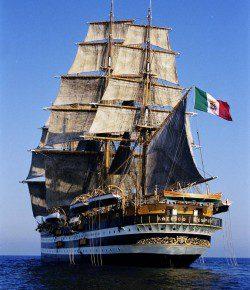 Marina: campagna istruzione della nave scuola Vespucci, quest'anno in Nord America e Canada