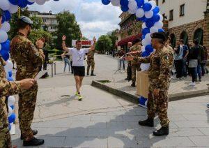 20160508_KFOR_MNBG-W_Run4Kosovo_l'arrivo del primo atleta