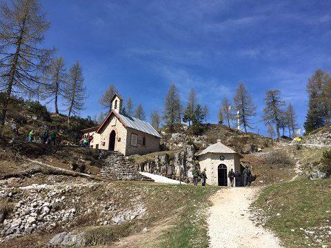 20160524_Giovani Alpini Alto Adige_Chiesetta a Monte Lozze