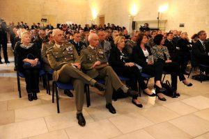 Lecce 21 maggio Castello Carlo V Convegno _Contributo della Puglia nella 1^ G. M._ Autorita Intervenute