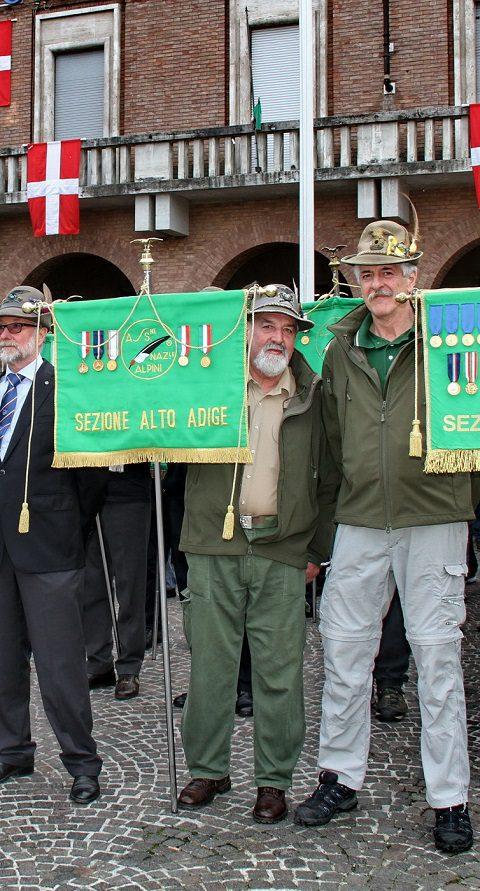 Vessillo Sezione Bolzano (CMCS Paolo Massardi)