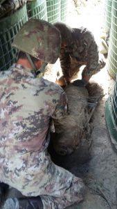 esercito bonifica bomba BO