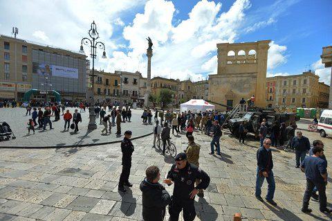 lecce 21 maggio Piazza S.Oronzo