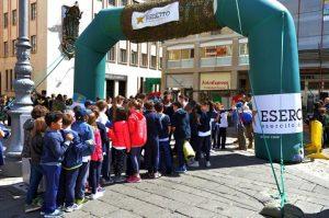 lecce 21 maggio Piazza S.Oronzo stand espositivo