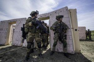 1 - addestramento al combattimento nei centri abitati