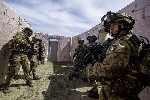 2 - addestramento al combattimento nei centri abitati