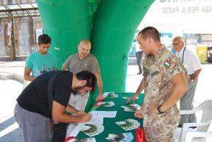 INFOTEAM_Tour Promozionale Esercito - foto Archivio