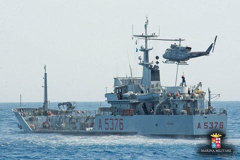 20160705_Marina Militare_Caralis_Flotta verde_anti-pollution exercise (1)