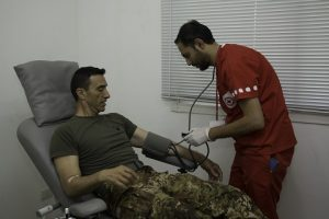 20160728_SW UNIFIL_donaizone sangue Croce Rossa Tiro_check up (2)