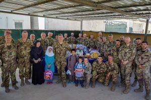Foto di gruppo militari italiani