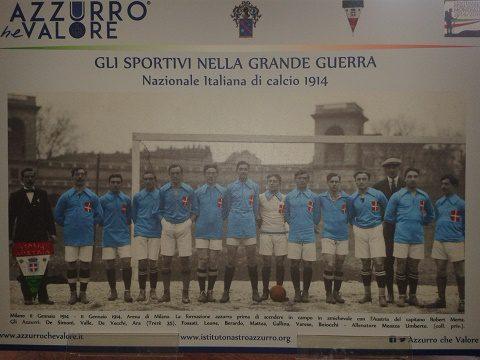 Nazionale di Calcio nel 1914