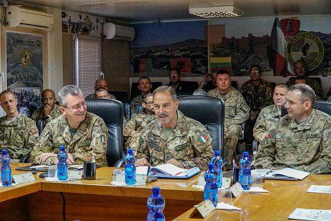 """TAAC W (RS): il COM JFC BS gen Farina in visita a Herat, """"intensificare le attività"""""""