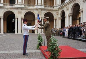 20160731_Accademia Militare_ Consegna del gagliardetto del 196° Corso CERTEZZA
