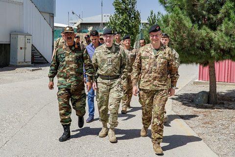 General Ghori,LT General Sandy Storrie, General Mirra