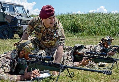 Esercito, Scuola di Fanteria: ecco come si addestrano i tiratori scelti. Intervista al COM gen Mingiardi