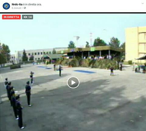 NRDC-ITA cambia il comandante e la cerimonia è live su Facebook: il gen Marchiò cede il comando al gen Perretti