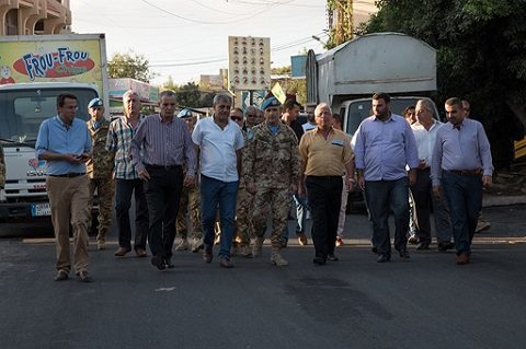 UNIFIL, Sector West: viabilità e illuminazione pubblica, così il contingente italiano incrementa la qualità della vita della popolazione del sud Libano