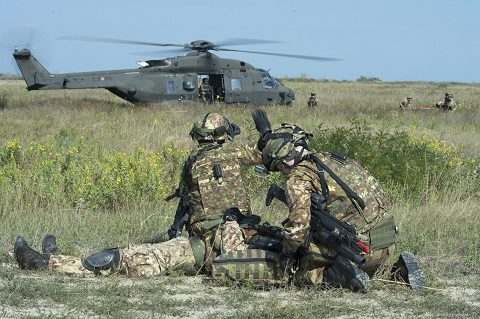 Brigata Friuli: test di interoperabilità in scenario CRO con la Airmobile Permanent Training IV