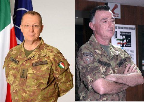 NRDC-ITA: cambio comando, il gen Perretti succede al gen Marchiò, destinato al nuovo COMFOTER COE a Roma