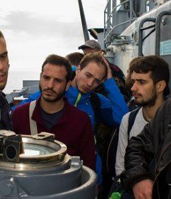 Marina e INGV: concluso il corso di Oceanografia a bordo del veliero Vespucci