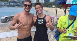 Esercito: Bruni e Ruffini oro nei 10 km nuoto libero in Coppa del Mondo