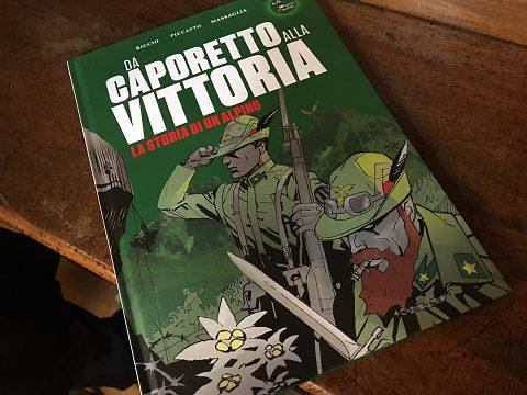 Alpini, Esercito: a Torino la presentazione del volume a fumetti Da Caporetto alla vittoria, con le strisce di Luigi Piccatto e il suo staff