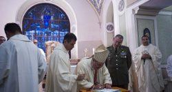 COMFOTER di Supporto: dedicazione del nuovo altare nella Caserma Dalla Bona di Verona