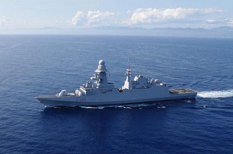 Marina: lanciato il primo missile Aster 30 MBDA dalla FREMM Bergamini nel poligono Salto di Quirra