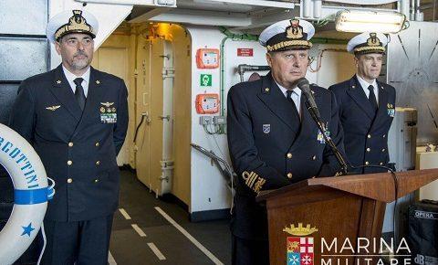 Mare Sicuro, cambio al comando: il contrammiraglio Cottini subentra al collega Maffeis