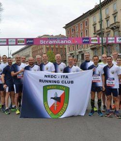 Stramilano: NRDC-ITA vede il 1° Mar Esposto del Restal vincere il Trofeo NRDC-ITA HQ nella mezza maratona