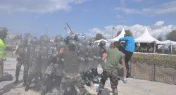 Sector West, UNIFIL: controllo della folla e difesa personale, un corso e una esercitazione per le LAF