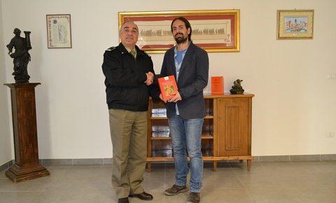Esercito, CME Abruzzo: visita del prof Pezzuto, storico e cultore delle vicende di San Giovanni da Capestrano