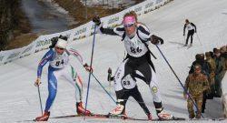 CaSTA 2017: oro nel biathlon per gli alpini Danne e Andreola. Stasera sci alpinismo in notturna