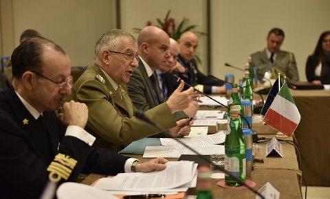 """NATO Security Force Assistance, alla Scuola di Fanteria un centro di eccellenza: """"militari italiani bravi istruttori perché bravi militari"""", il CaSMD gen Graziano"""