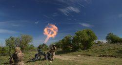Scuola di Fanteria, Esercito: addestramento impiego mortai da 60mm, 81mm e 120mm per i Marescialli del 17° corso Coraggio