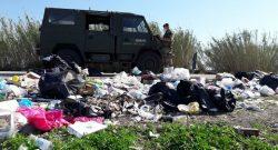 Strade Sicure e Terra dei Fuochi: sversamenti e roghi illegali, Esercito, Polizia e Vigili del Fuoco intervengono a Caserta e a Napoli