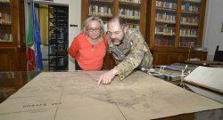 CESIVA: la direttrice della Biblioteca Angelica visita il patrimonio librario del centro militare di Civitavecchia