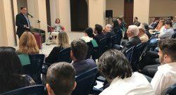 """Forze Armate """"contrasto alla criminalità"""": il SSSD on Rossi ai liceali del Sulpicio di Veroli, a Frosinone"""