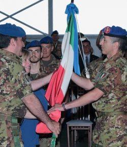 AVES, cambio al 3° REOS: il col Di Stasio cede al col Basti il comando degli assetti di supporto a Forze Speciali