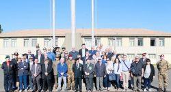 Scuola Sottufficiali: cinquantennale degli ex allievi del 4°, 5° e 6° corso alla Soccorso Saloni di Viterbo