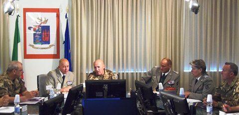 Scuola Sottufficiali, Esercito: visita del comandante della Scuola Sottufficiali francese a Viterbo