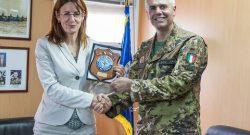 MNBG-W, KFOR: a Villaggio Italia la visita del Ministro della Difesa della Slovenia