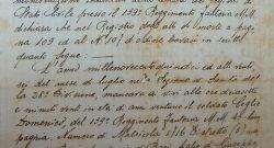 """CME Puglia: un manoscritto del ten Picca donato dalla famiglia del soldato Ceglie, """"mancato ai vivi"""" sul Monte San Michele"""