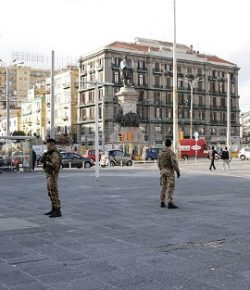 Strade Sicure: uno stupratore arrestato a Napoli su intervento dei militari del Raggruppamento Campania