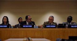 Il CaSMD gen Graziano all'ONU: necessario un approccio omnicomprensivo per le operazioni di peacekeeping