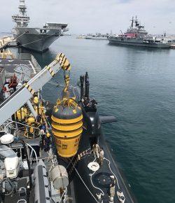 Marina, Soccorso Sommergibili: esercitazione dei GOS COMSUBIN nel Golfo di Taranto con Campana McCann