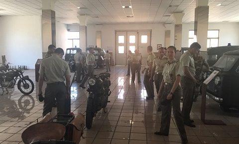 Scuola Sottufficiali: gli allievi marescialli del 18° Lealtà al Museo della Motorizzazione Militare a Roma