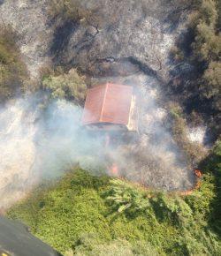 AVES, campagna antincendio: 13 lanci e oltre 30mila litri d'acqua per il Chinook che affianca la Protezione Civile tra Monterotondo e il Perugino